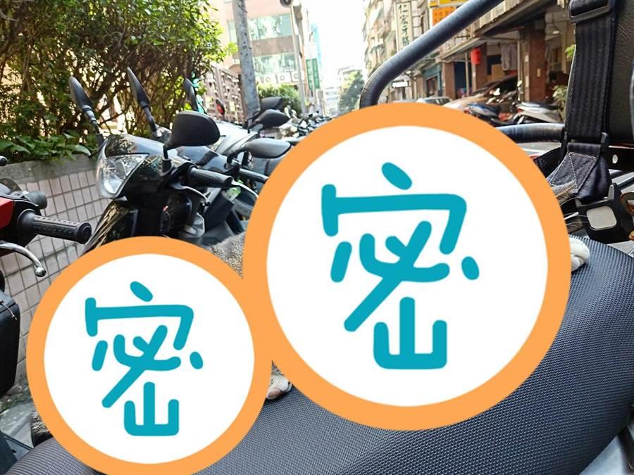 網友抱怨車子被歹徒貓霸佔。(翻攝爆怨公社)