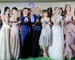 许圣梅PO百字文谢韩国瑜「我在高雄发大财」