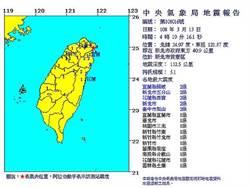 影》核電廠區地牛翻身 04:19貢寮規模5.1地震