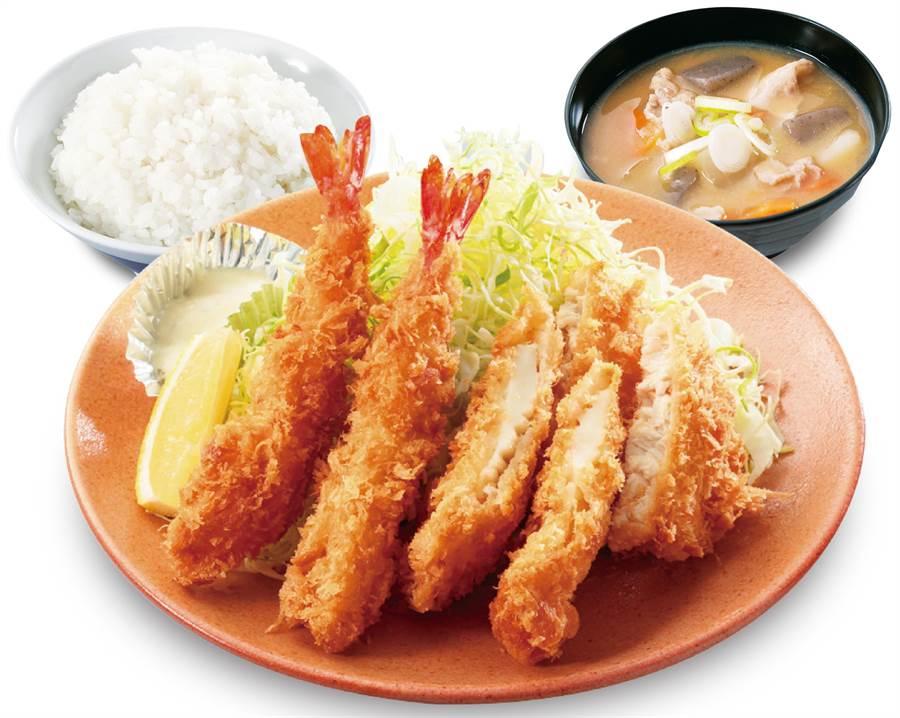 吉豚海鮮定食。(圖/品牌提供)
