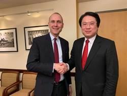 林右昌訪美國務院亞太代副助卿:中華民國很重要