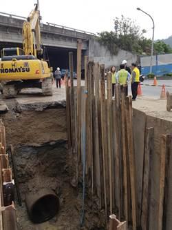 水管爆管頂埔地區無預警停水 1.5萬戶居民整日無水可用