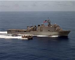 罕見病毒爆發  美國軍艦海上隔離2個月
