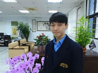 竹林中學方浚懿 入選2019生物奧林匹亞國手選拔營