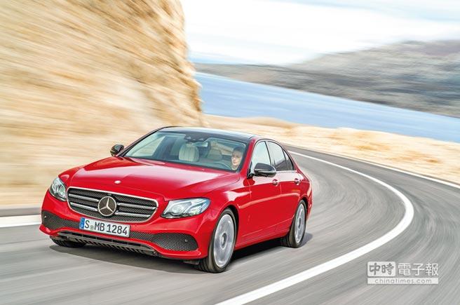 Mercedes-Benz E-Class在歐系進口中大型豪華房車市場中,擁有舉足輕重的地位。(Daimler AG提供)