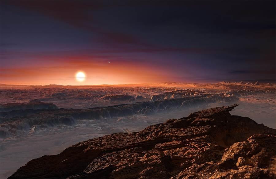 美國太空總署NASA為流浪行星製作的《星際大戰》電影風格想像圖。(圖/NASA)