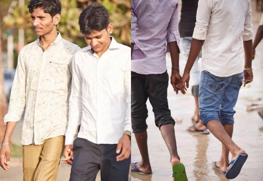 為何印度常見兩男人牽手?背後原因好溫馨(圖翻攝自IG/vincentdolman)