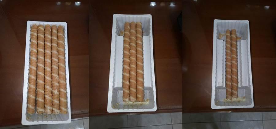 吃了才知餅乾盒設計太心機!網嘆:減量無極限(圖/翻攝自《爆怨公社》)