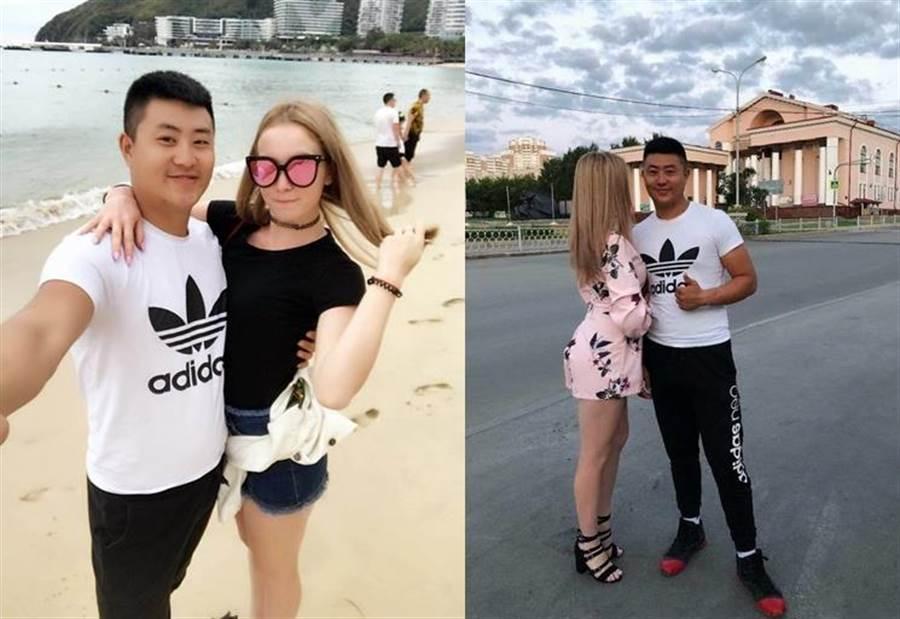 李文龍與娜思佳從小就認識,兩人感情相當的好(圖翻攝自/鳳凰網)