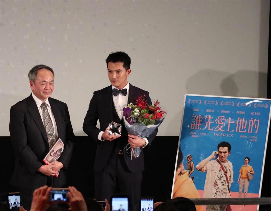 邱澤今在大阪亞洲電影節獲得亞洲之星獎。(海納百川娛樂提供)