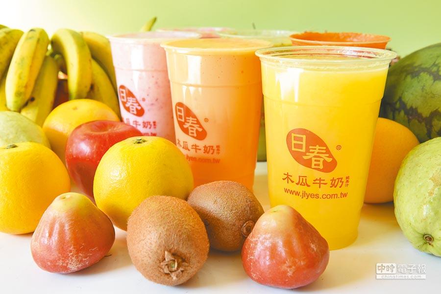 微風南山B2「日春」招牌木瓜牛奶,85元。(微風提供)