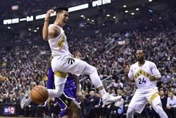 NBA》林書豪再次先發摘9分 暴龍輕取湖人