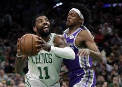 NBA》厄文生涯第2次大三元 綠軍逆襲國王