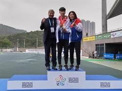 亞青少田徑賽》盛尹辰摘男子三級跳遠金牌