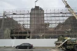影》中市西屯區灌漿工程坍塌 4人受傷脫困