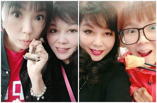 劉樂妍想幫母親註冊「百度」APP帳號,卻發現找不到「台灣」選項。(圖/劉樂妍微博)