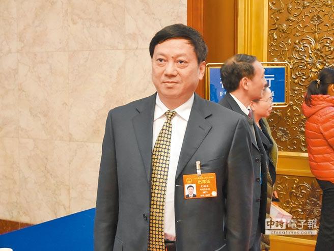 福州市長尤猛軍接受《旺報》專訪表示,希望兩岸城市交流可整合行業及資源,實現優勢互補。(記者陳君碩攝)