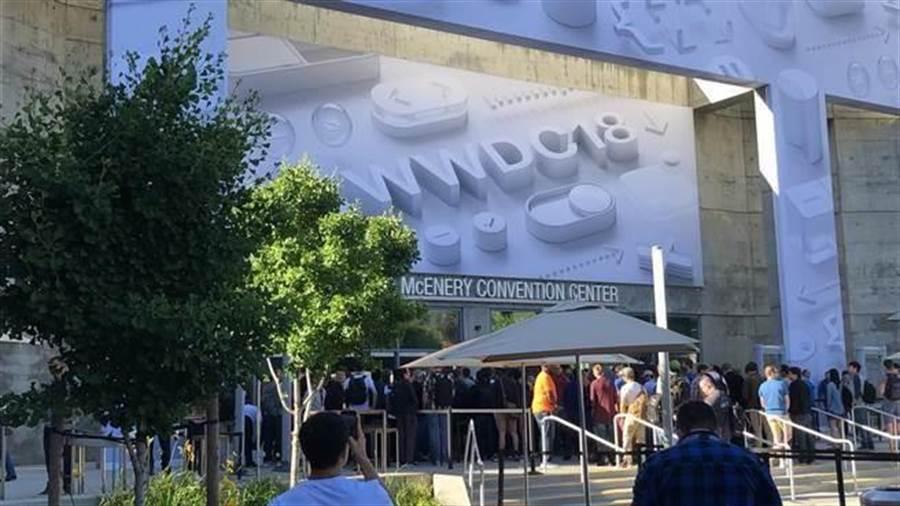 WWDC 2019 會場與 WWDC 2018 一樣,選在 McEnery Convention Center。(圖/黃慧雯攝)