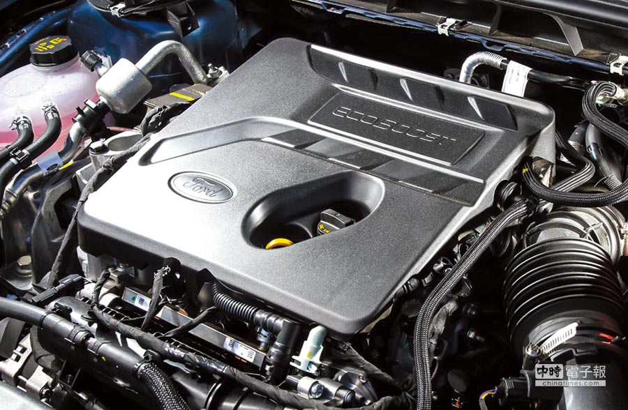 此具三缸1.5升渦輪增壓引擎,動力表現來到182ps/24.5kgm之譜。圖/陳慶琪