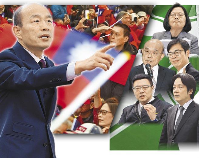 韓流大戰民進黨