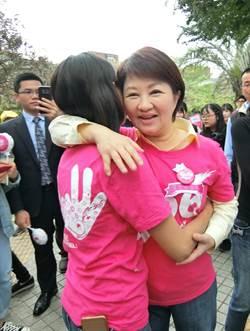 盧秀燕鼓勵愛奇兒家庭 市府團隊當後盾