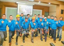 10勇士下溯 台灣第一高瀑