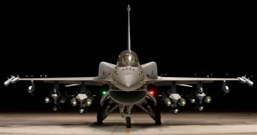 洛克希德馬丁F-16V戰機的資料照。(洛克希德馬丁公司)