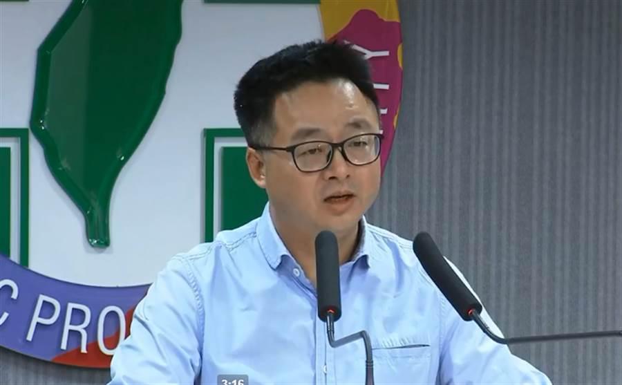 民進黨秘書長羅文嘉。(圖片取自中時電子報臉書)