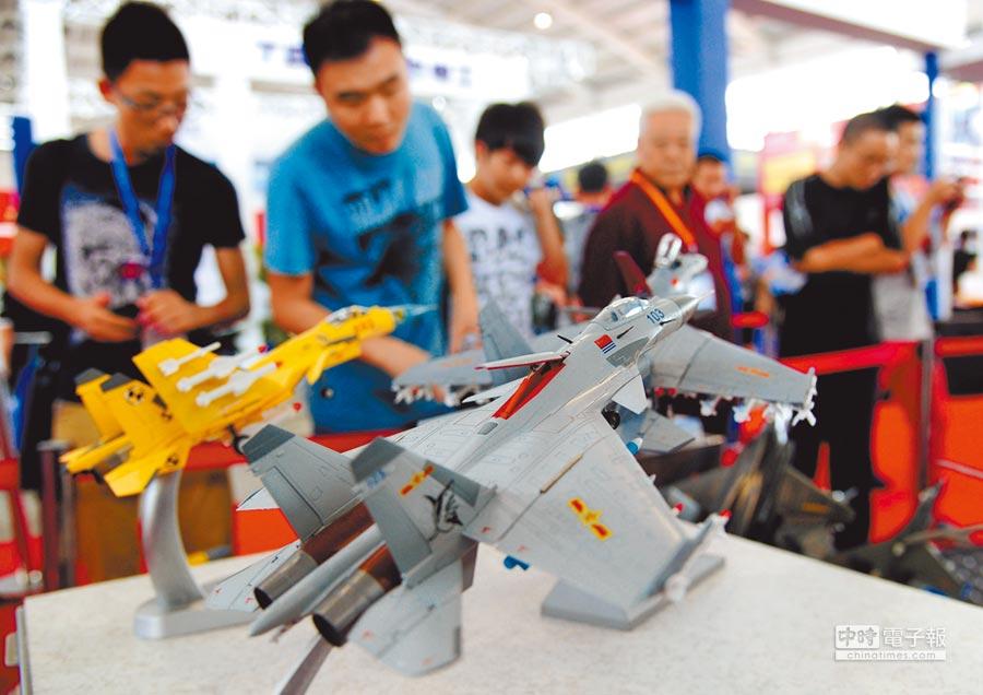 2014年9月,中國國際裝備製造業博覽會在瀋陽開幕,境外商投資企業展位比例高。(中新社)