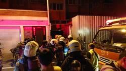 影》台南東區凱旋路公寓大樓火警 成大學生半夜驚逃