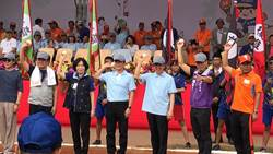 第54屆六堆運動會登場 陳建仁到場為選手加油打氣