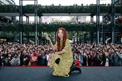 陳綺貞簽唱千人擠爆信義區!