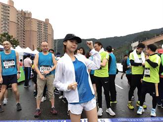 影》林明禎現身馬拉松賽事「連作夢都夢到在跑步」
