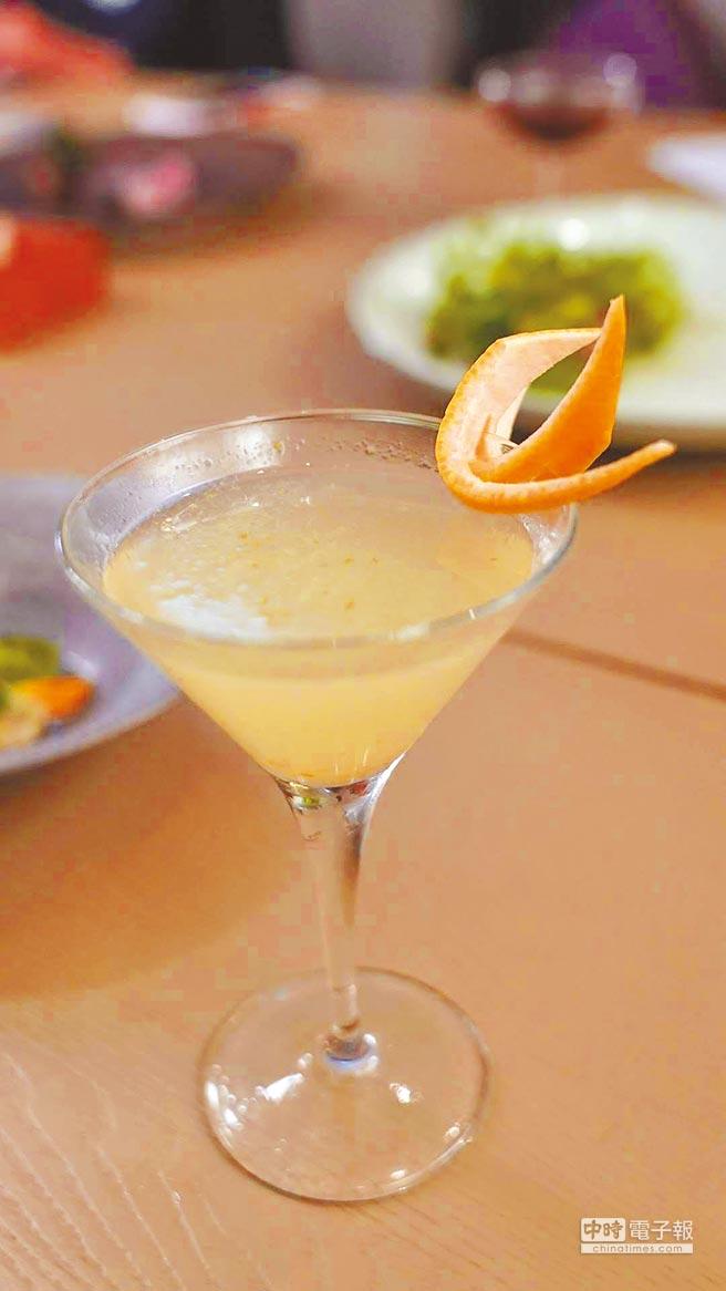 柚子胡椒琴酒搭配醃鯖魚。圖片提供各品牌