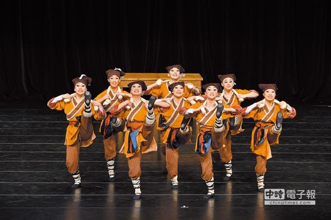 北安國中在全國學生舞蹈大賽的精彩演出。 圖片提供北安國中