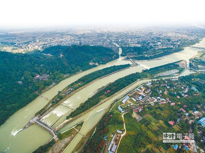 四川都江堰。(新華社資料照片)