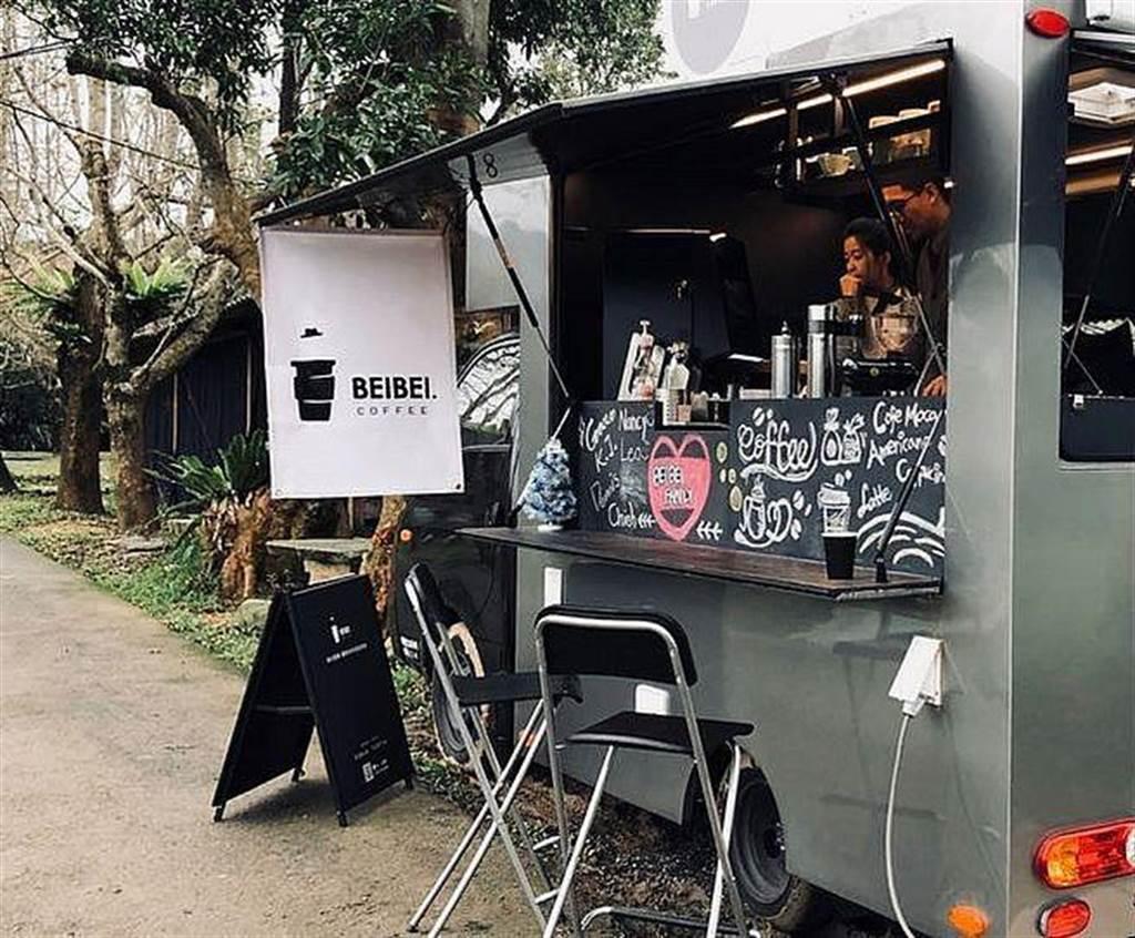 全球首創智慧綠能咖啡車-咖啡杯杯,也會在活動期間讓參與的民眾能夠體驗高貴不貴現煮的單品咖啡。(圖取自北市公園處官網)
