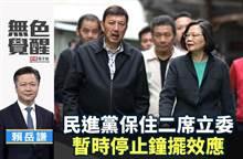 無色覺醒》賴岳謙:民進黨保住二席立委 暫時停止鐘擺效應