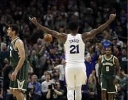 NBA》恩比德大殺四方 七六人幹掉公鹿進季後賽