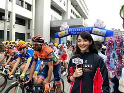 混血主播馬杰堯 直擊《2019國際自由車環台公路大賽》