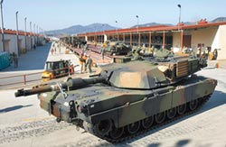 美方同意售我最新戰車M1A2X