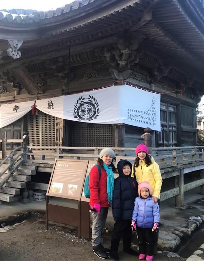 康雅羚每年都會安排時間帶家人出國旅遊充充電。(圖/永慶房屋 提供)