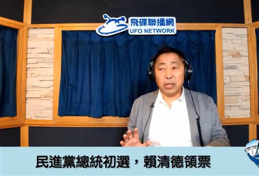 资深媒体人唐湘龙。(图片取自Youtube)