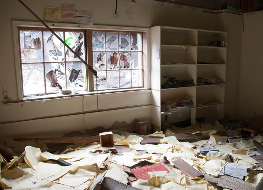 美國科羅拉多州一戶人家15日清晨聽到玻璃碎裂聲,以為家裡遭小偷,最後驚喜發現不速之客是一隻駝鹿。(示意圖/shutterstock)