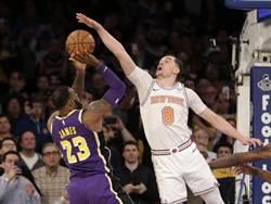 NBA》羞辱詹皇字母哥 尼克小人物爆紅