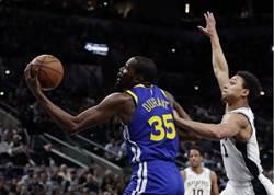 NBA》艾卓吉與迪羅薩聯手 馬刺克勇士強摘9連勝