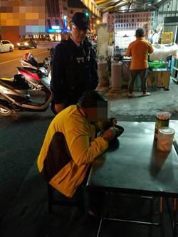 婦人無家可歸深夜徘徊街頭 警助果腹充飢