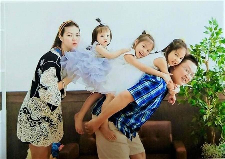蕭宇瑞在永慶有穩定的薪水,娶妻生子、陪伴小孩成長。(圖/永慶房屋 提供)