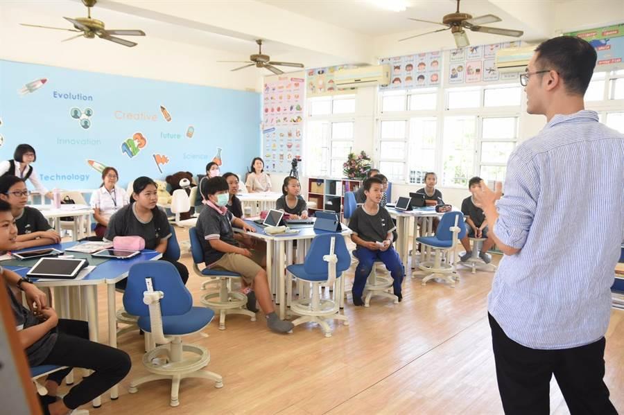 雲林仁和國小展現跨年級教學成果。(教育部提供)