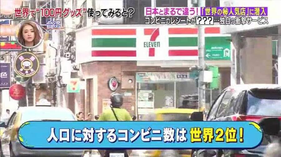 在台灣消費才有!這張紙印神秘編號 日本人羨慕(圖翻攝自/電視截圖)